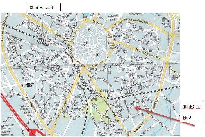 vakantiewoning locatie Hasselt